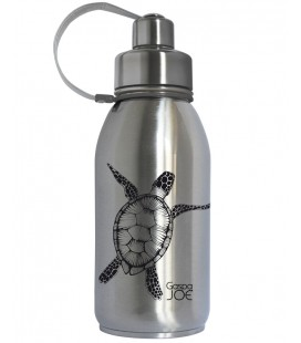 Friendly - Gourde Inox Isotherme TORTUE NOIRE