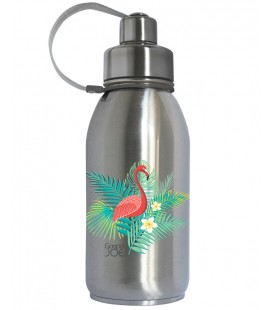Friendly Gourde isotherme Inox , Flamant