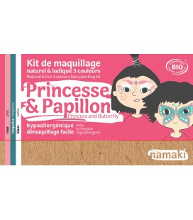 Kit 3 Couleurs Princesse & Papillon Bio