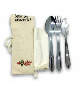 Set de Couverts Nomade Inox