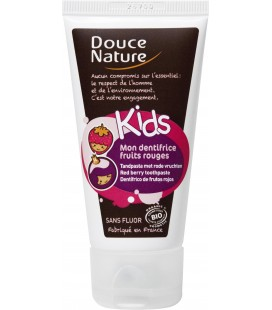 Kids dentifrice fruis rouges 50 ml Douce Nature