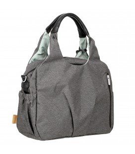 Sac à langer , Sac global Ecoya, gris anthracite